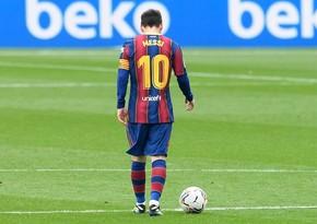 Lionel Messi Barselona ilə vidalaşıb - RƏSMİ