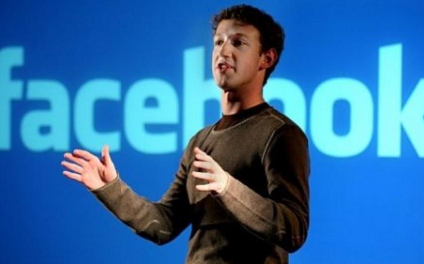 Mark Sukerberq dünya liderlərini interneti inkişaf etdirməyə səsləyib