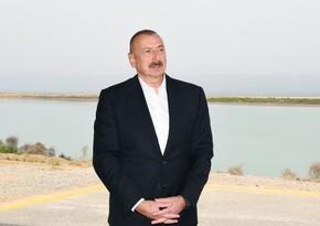 Dövlət başçısı: Azad edilmiş ərazilərin elektrik təchizatı bu ilin sonuna qədər başa çatacaq