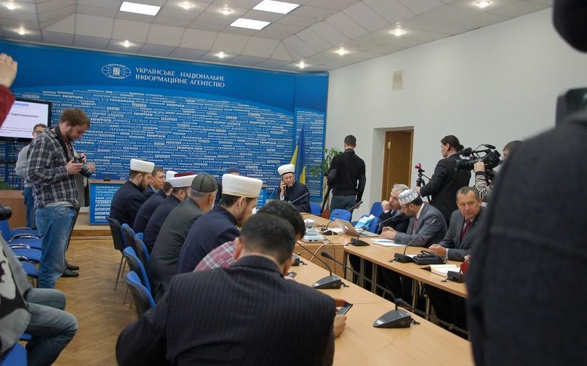 Ukraynada ölkə tarixində ilk dəfə müsəlman təşkilatları arasında xartiya imzalanıb