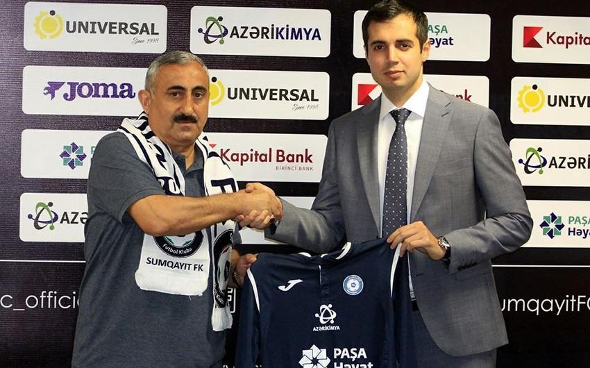 В клуб Сумгайыт назначен новый главный тренер