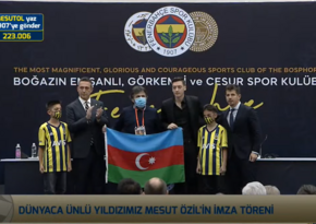 Mesut Özil: Azərbaycana məni seçdikləri üçün təşəkkür edirəm