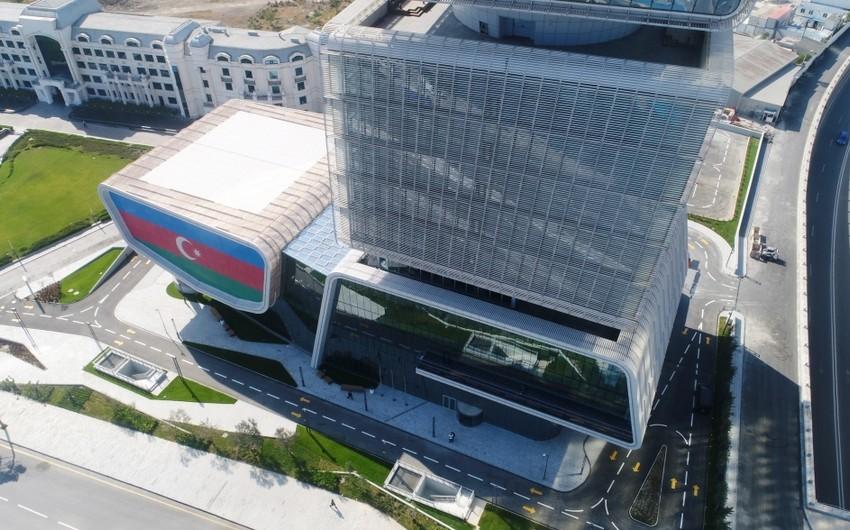 Dövlət Vergi Xidməti İqtisadiyyat Nazirliyinin yeni inzibati binasına köçüb