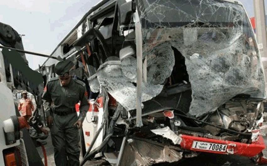 Sudanda baş verən ağır yol qəzasında 15 nəfər ölüb, 22 nəfər xəsarət alıb