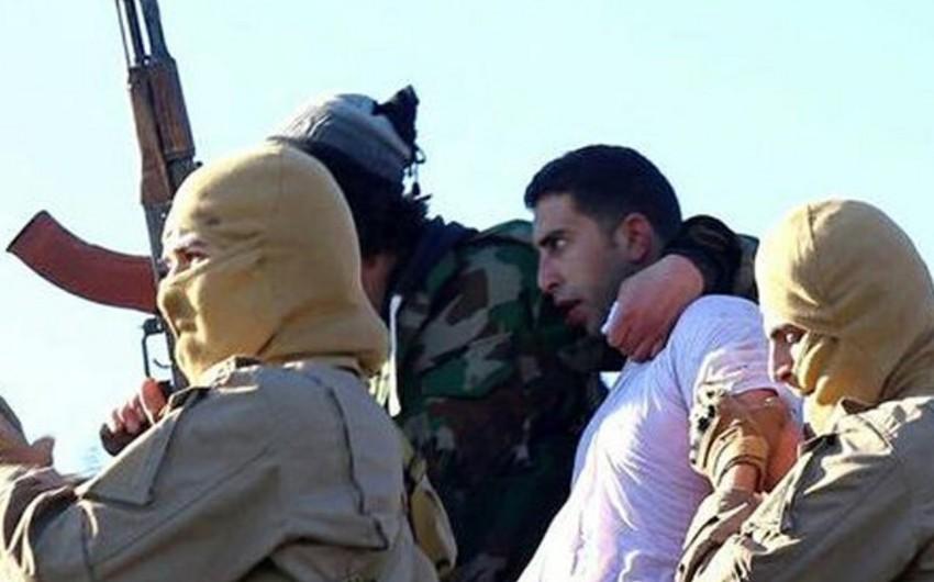 İŞİD terror təşkilatının silahlıları İordaniya hərbi hava qüvvələrinin pilotunu əsir götürüblər