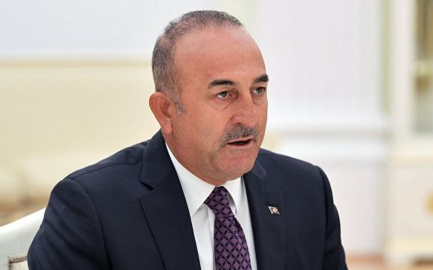 Mövlud Çavuşoğlu: Suriya problemlərin güc yolu ilə həllinə meyl göstərir
