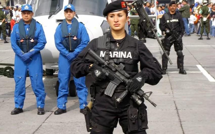 Meksikada polislə quldurlar arasında baş vermiş atışmada 5 nəfər öldürülüb