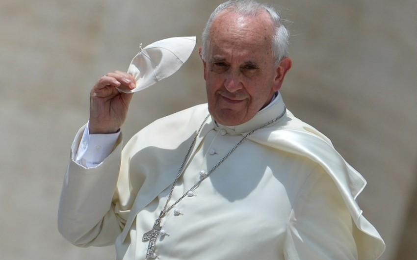 Roma Papası ABŞ prezidenti ilə görüşə hazır olduğunu bildirib