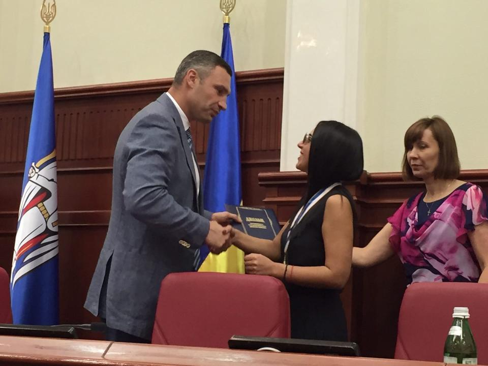 Jamala becomes an honorary citizen of Kyiv