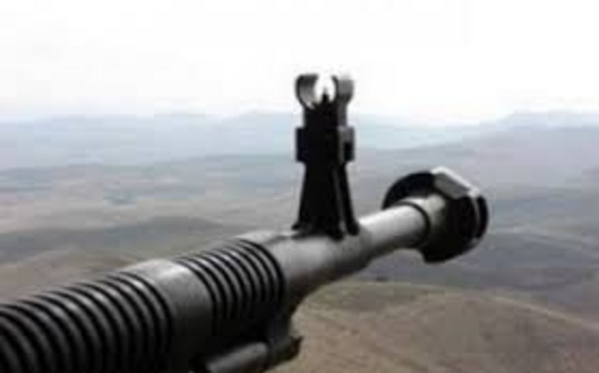 Armenian armed forces violated ceasefire 95 times in a day using heavy machine guns