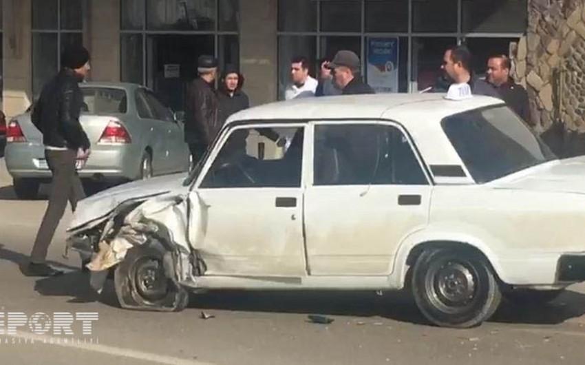 Abşeronda yol qəzası baş verib, yaralananlar var - FOTO - VİDEO - YENİLƏNİB