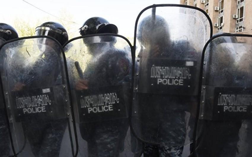Yerevanda tutulan aksiya iştirakçılarının sayı 233 nəfərə çatıb
