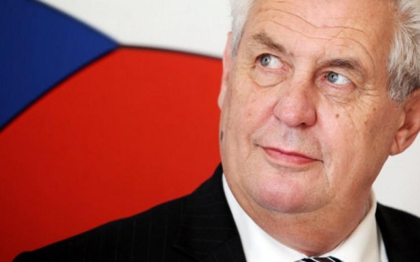 Обнародована программа визита президента Чехии в Азербайджан