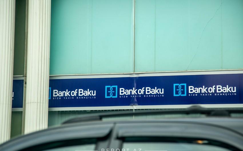 """""""Bank of Baku""""nun xalis mənfəəti 2 dəfədən çox artıb"""