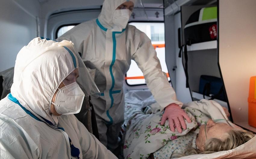 Rusiyada koronavirusa yoluxanların sayı7 065 904nəfərə çatıb