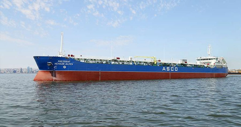 Overhaul of tanker President Heydar Aliyev completed