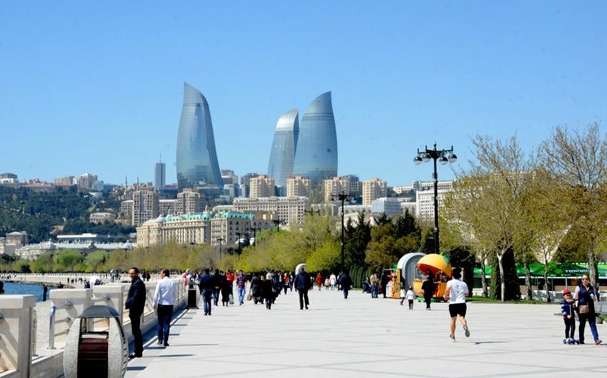 Поток туристов в Азербайджан возрос на 18%