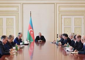 """Azərbaycan Prezidenti: """"Dövlət sahibkarların yanındadır"""""""