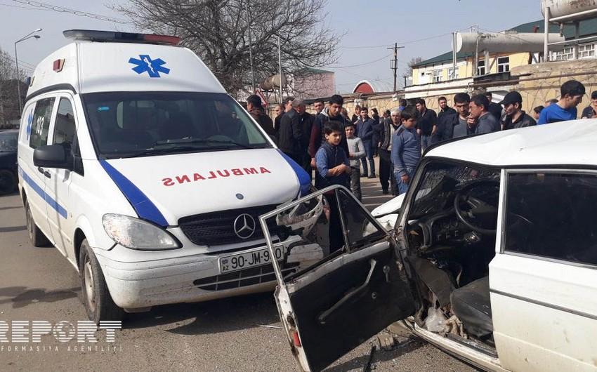 Tovuzda avtobusla minik avtomobilinin toqquşması nəticəsində yaralananların adları məlum olub - YENİLƏNİB-2