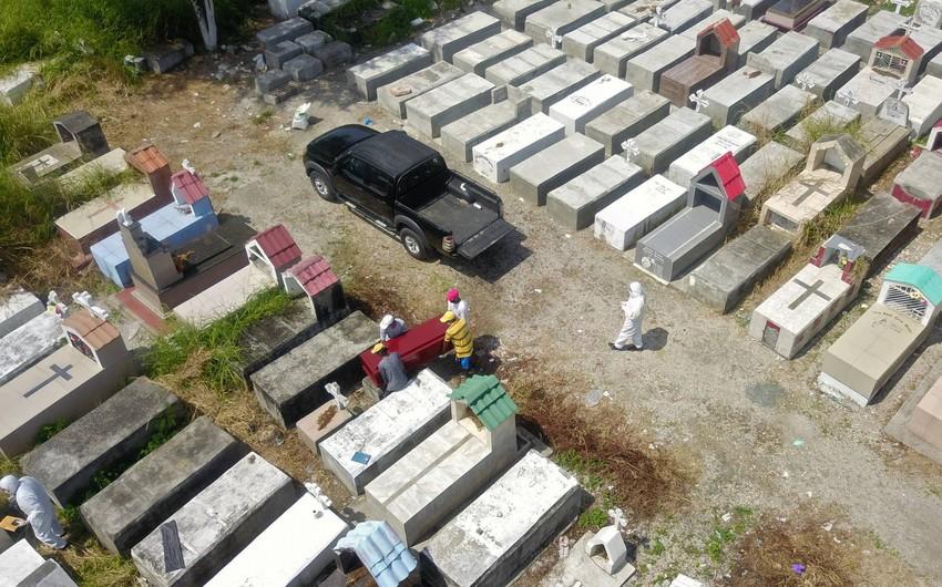 Ekvadorda evlərdən 800-ə yaxın meyit tapılıb