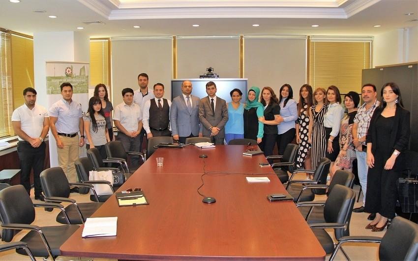Azərbaycan Mərkəzi Bankı jurnalistlər üçün təlim keçirib