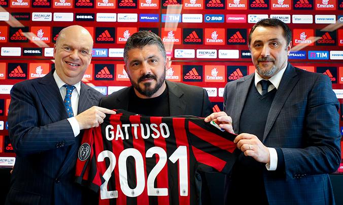 Милан продлил контракт с главным тренером