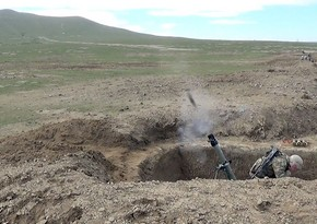Mortar batteries complete regular stage of live-fire training exercises