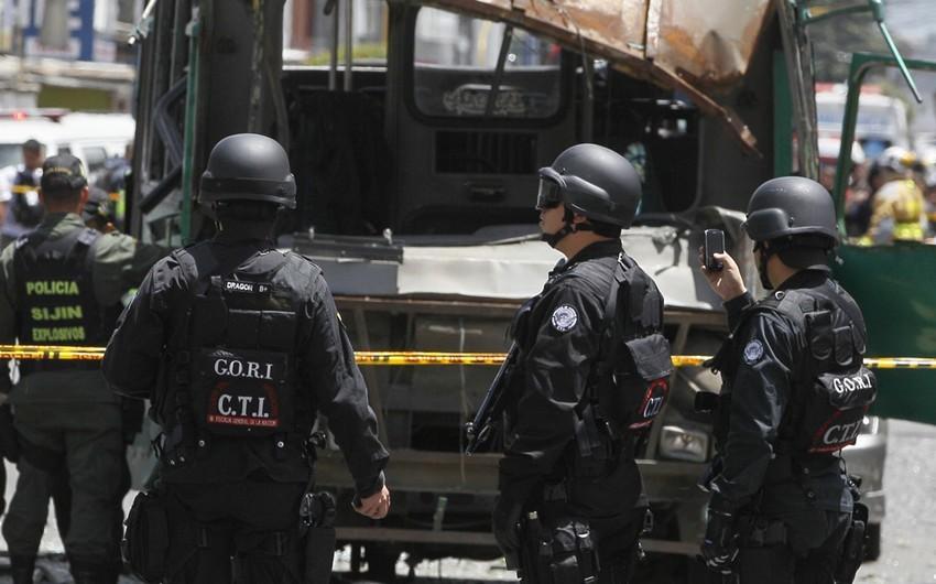 Kolumbiyada terror aktı zamanı xəsarət alanların sayı 43 nəfərə çatıb