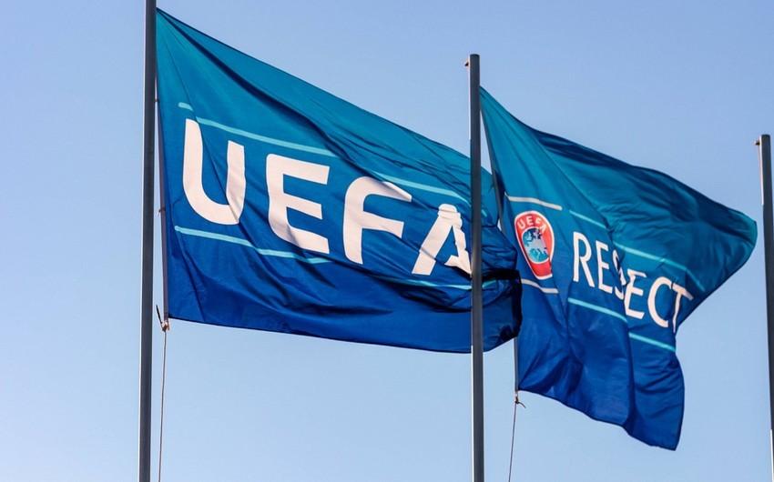 UEFA-dan avrokubokların qrup mərhələsinin oyunları ilə bağlı açıqlama