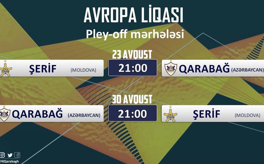 Определилось время матчей между Карабахом и Шерифом