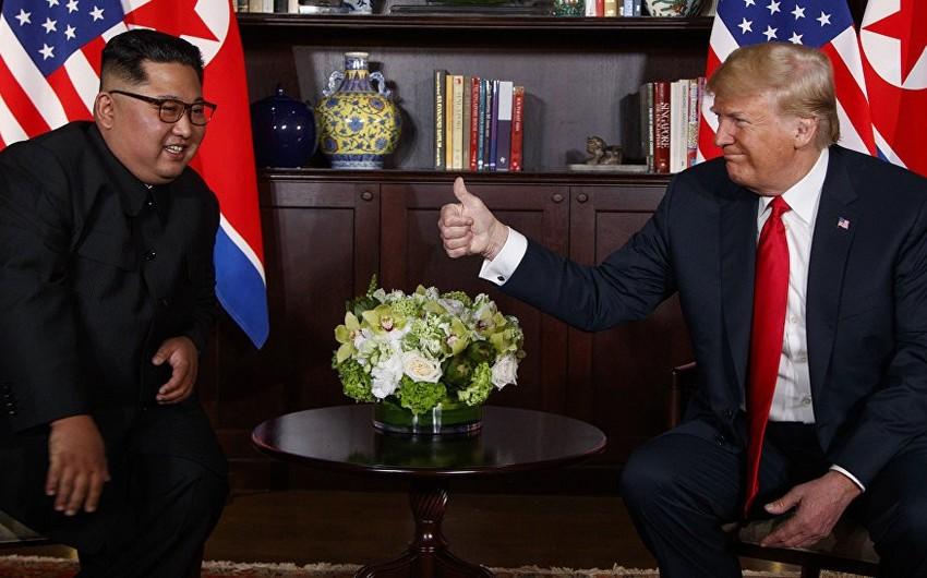 Tramp Şimali Koreya lideri ilə yeni görüşü səbirsizliklə gözlədiyini bildirib