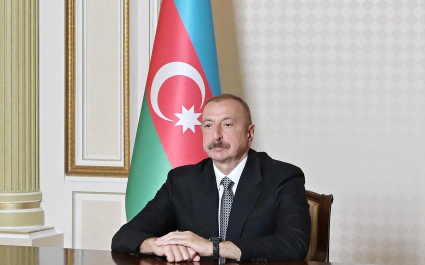Azərbaycan Prezidenti: Əcdadlarımız bugünkü mərasimi görsəydilər, yəqin ki, şad olardılar
