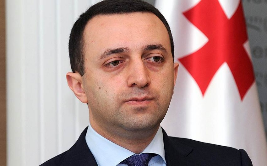 Gürcüstanın baş naziri Azərbaycan Prezidentinə başsağlığı verib