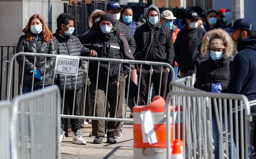 Nyu-Yorkda son bir gündə koronavirusdan 157 nəfər ölüb