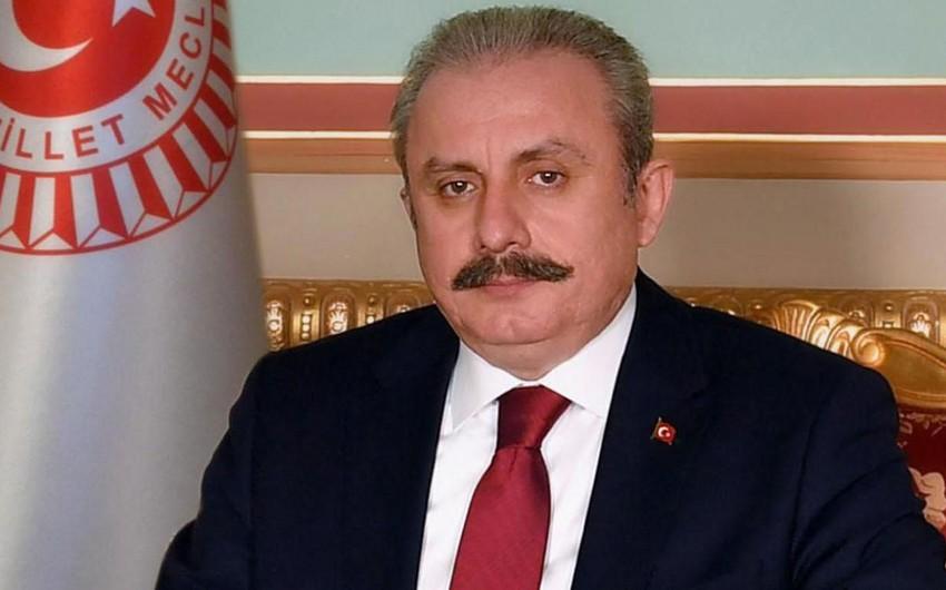 Türkiyə parlamentinin sədri Azərbaycanda səfərdədir