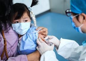 Çində 3 yaşından yuxarı uşaqlar koronavirusa qarşı peyvənd olunacaq