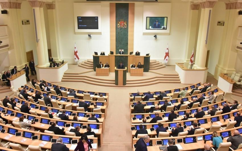Gürcüstan parlamentində yeni fraksiya yaradılıb