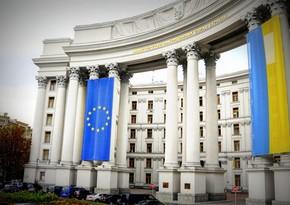 Ukrainian MFA condemns attack on Azerbaijani Consulate