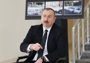 Prezident: Azərbaycan tərəfindən hər hansı aqressiv addım atılmayacaq