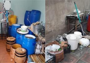 В Хырдалане обнаружен подпольный цех по фасовке поддельного меда