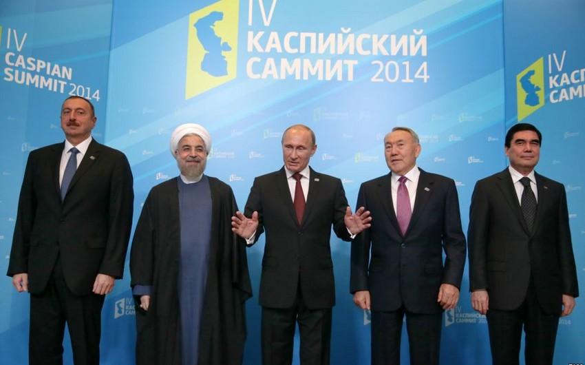 Саммит глав прикаспийских государств пройдет весной 2018 года в Астане