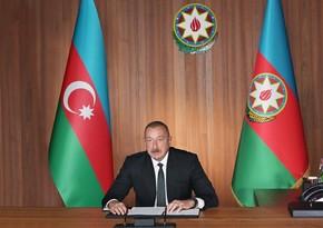 Президент: Агрессивная риторика и провокации демонстрируют, что Армения готовится к новой агрессии против Азербайджана