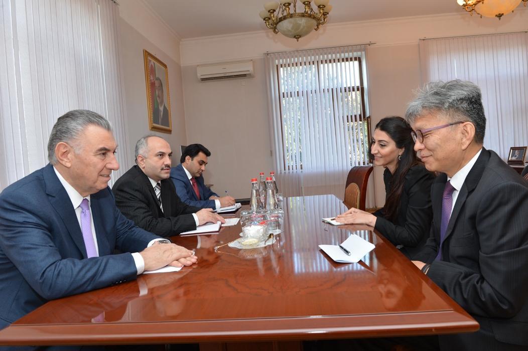 Корея реализует в Азербайджане новые проекты по проблемам вынужденных переселенцев
