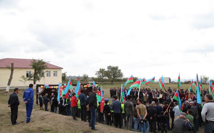 Четыре села в Исмаиллах газифицированы