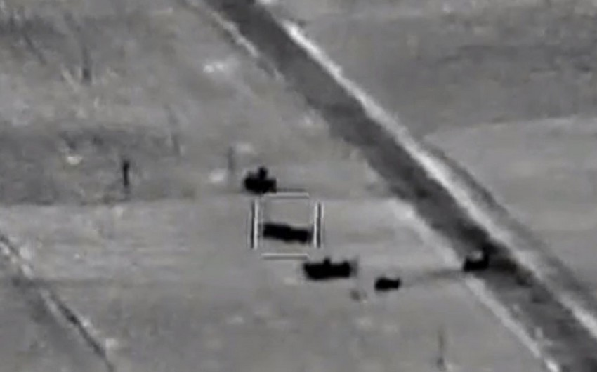 Video footage shows deployment of destroyed Armenian operational-tactical missile systems to starting positions