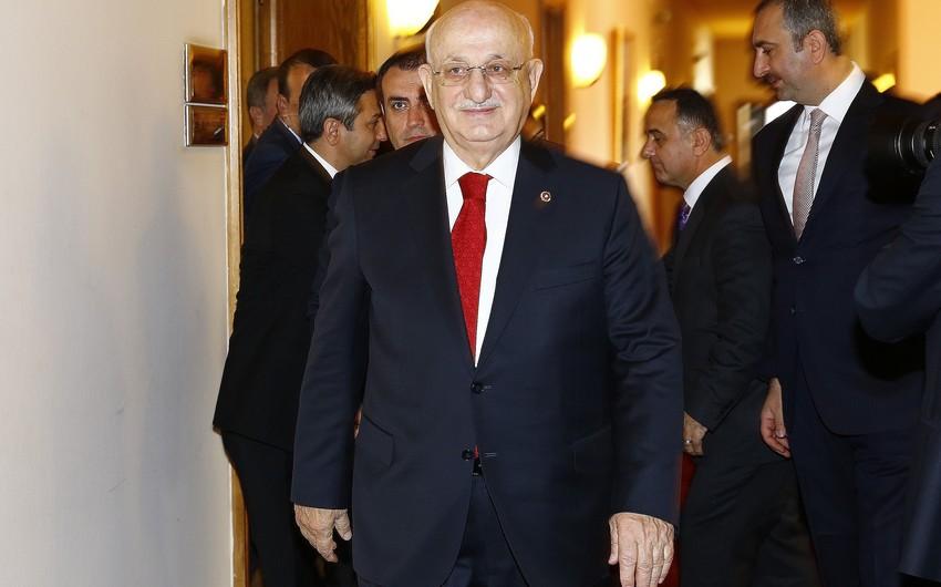 Türkiyə parlamentinin sədri Azərbaycana gəlib