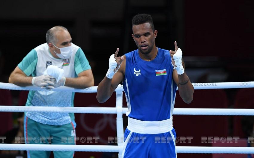 Tokio-2020: Azərbaycan boksçusu yarımfinalda uduzaraq bürünc medal qazanıb