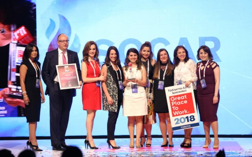 Дочернее предприятие SOCAR в Турции признано одним из самых лучших работодателей
