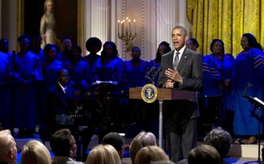 ABŞ prezidenti Barak Obama dinlədiyi ifaçıların adlarını açıqlayıb - SİYAHI
