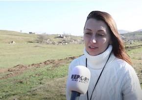 Корреспондент РИА Новости о разрушениях в Карабахе: Очень жаль на все это смотреть